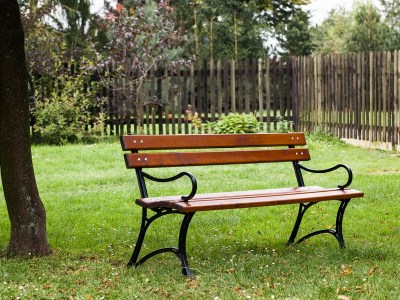 Inne rodzaje Ławki ogrodowe wykonane z najwyższej klasy jakości materiałów DE56