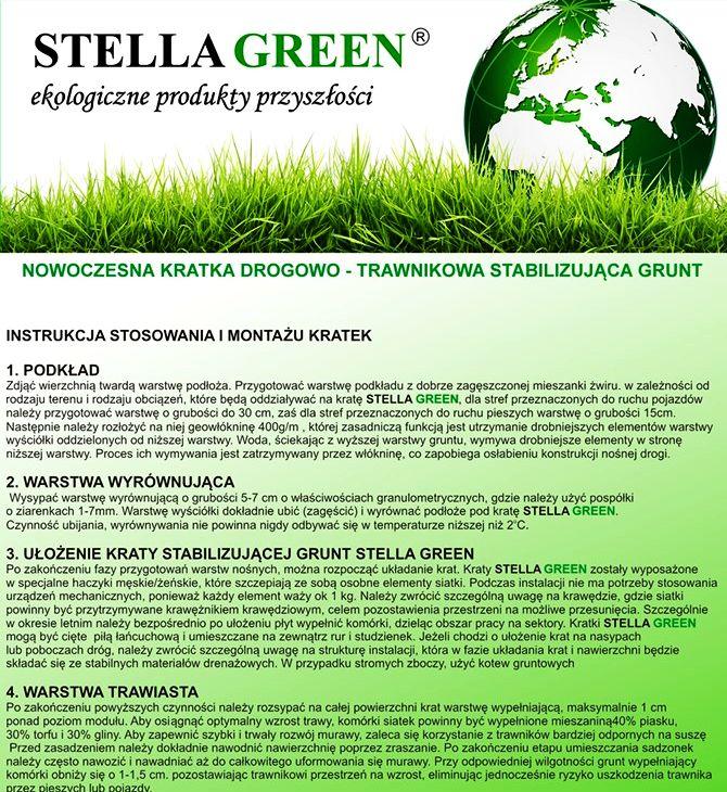 Kratka trawnikowa Stella Green